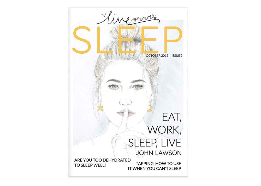 sleep-magazine-cover-illustration